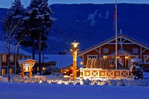 Hafjell Hotell during the winter