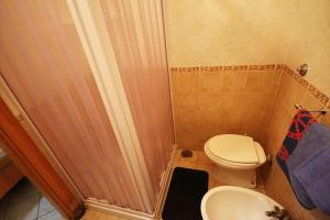 A bathroom at Hotel Casanova