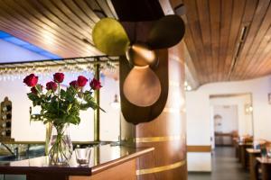 Vstupní hala nebo recepce v ubytování Hotel Laguna