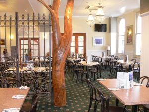 A restaurant or other place to eat at The Yarrawonga Hotel