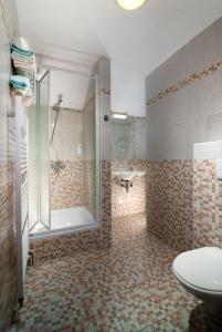 A bathroom at Hotel Start