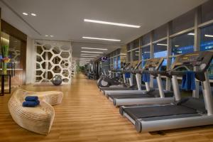 The fitness centre and/or fitness facilities at Ascott Kuningan Jakarta
