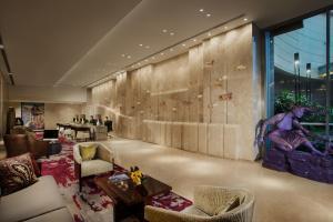 The lobby or reception area at Ascott Kuningan Jakarta