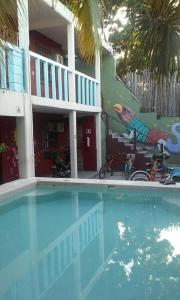 The swimming pool at or near Hostal Chalupa