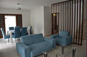 A seating area at Casa Madera