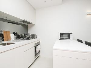 A kitchen or kitchenette at Mono Two on Flinders Street