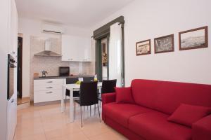 A seating area at Visit Cagliari