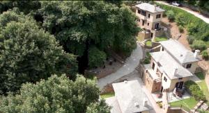 A bird's-eye view of Vergopoulos Oliveyard