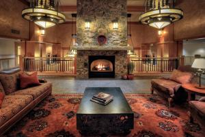 The lobby or reception area at The Steamboat Grand