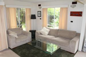 A seating area at Nathan's Place