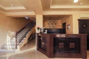 Лобби или стойка регистрации в Отель Абрис