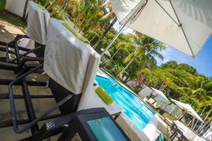 Het zwembad bij of vlak bij Casa Veintiuno