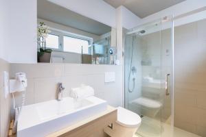 Ein Badezimmer in der Unterkunft Room 5 Apartments
