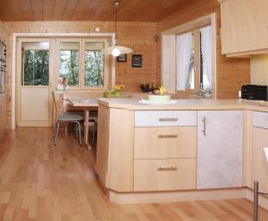 Küche/Küchenzeile in der Unterkunft Haus König