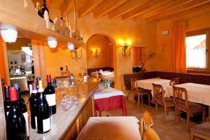 Restaurace v ubytování Bio Hotel Villa Cecilia