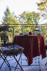 Balkon lub taras w obiekcie Magia Przy Gondoli