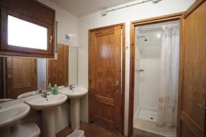 A bathroom at Alberg Tremp Xanascat