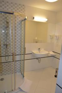 Łazienka w obiekcie Hotel Via Baltica