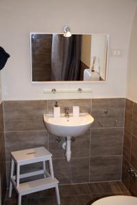 A bathroom at Le Muse