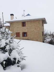 Villa Argomaniz during the winter