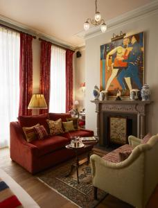 A seating area at The Zetter Townhouse Marylebone