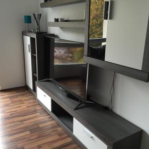 Küche/Küchenzeile in der Unterkunft City FEWO Leipzig
