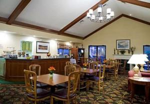 A restaurant or other place to eat at Residence Inn South Bend