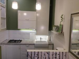 A kitchen or kitchenette at Apartment Ivory