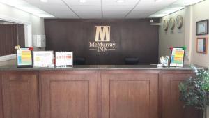 The lobby or reception area at McMurray Inn