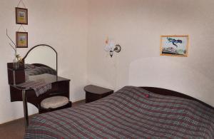 Кровать или кровати в номере Отель Эридан