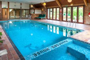 The swimming pool at or near Passford House Hotel