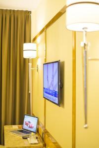 TV/Unterhaltungsangebot in der Unterkunft Hotel Teco