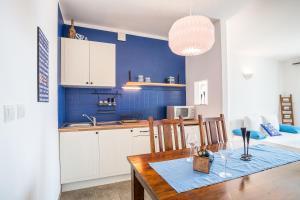 Kuchyň nebo kuchyňský kout v ubytování Zlatni Bol Apartments