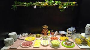 Možnosti snídaně pro hosty v ubytování Hotel CB Royal