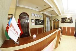 O saguão ou recepção de Masalli Hotel & Restaurant