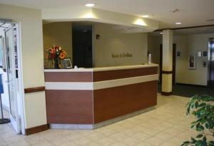 The lobby or reception area at Rincon Inn and Suites