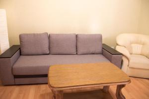 A seating area at InLviv Apartments