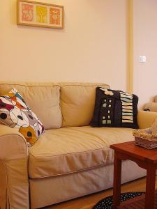 A seating area at Apartment Agram Centar