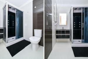 A bathroom at Reis de Gaia