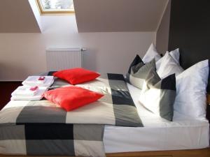 Postel nebo postele na pokoji v ubytování Hotel Star 1,2