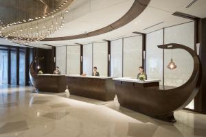 The lobby or reception area at Sedona Hotel Yangon