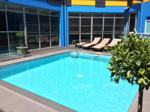 The swimming pool at or near Sydney Student Living