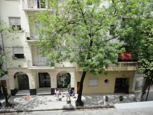 Un pato o zona al aire libre en Apartamento en Recoleta