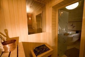 Ванная комната в Гостиница Золотой Стрелец