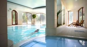 The swimming pool at or near Mill Park Hotel