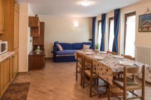 Posezení v ubytování Appartamento Dina