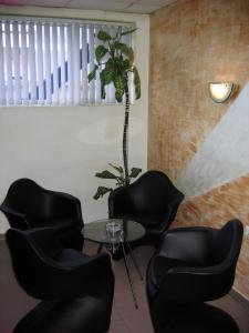 A seating area at Rodopi Hotel