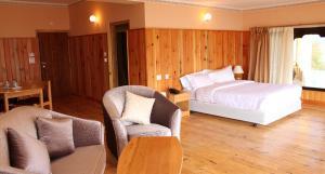 A room at Bhutan Mandala Resort