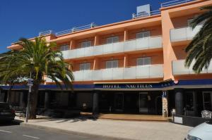 The facade or entrance of Nautilus Hotel