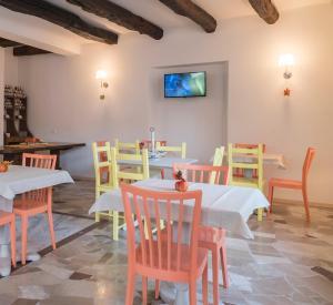 Ein Restaurant oder anderes Speiselokal in der Unterkunft Chery Bed & Breakfast